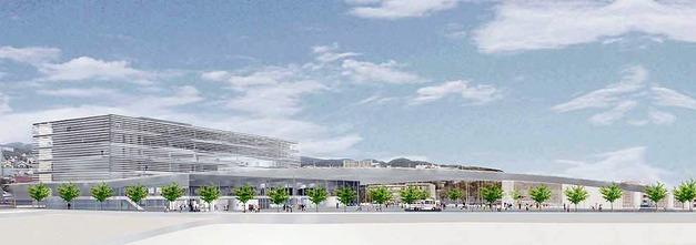 日立市役所新庁舎のイメージ