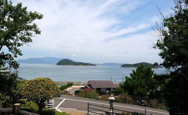 大島からの眺望