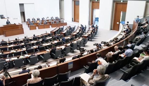 茨城県議会本会議(2020/6/8)