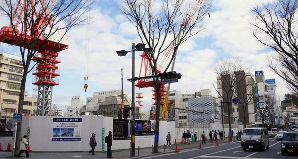 横須賀中央地区の再開発