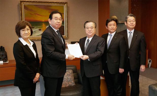 茨城県議会公明党予算要望