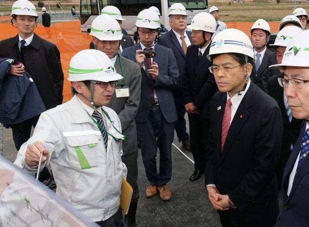 石井国交大臣が視察