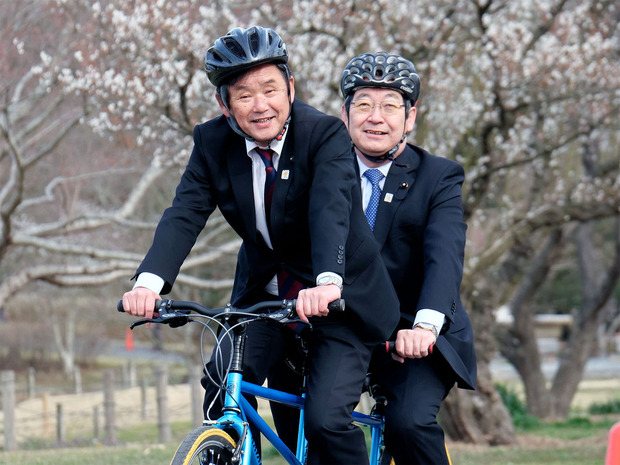 タンデム自転車試乗会
