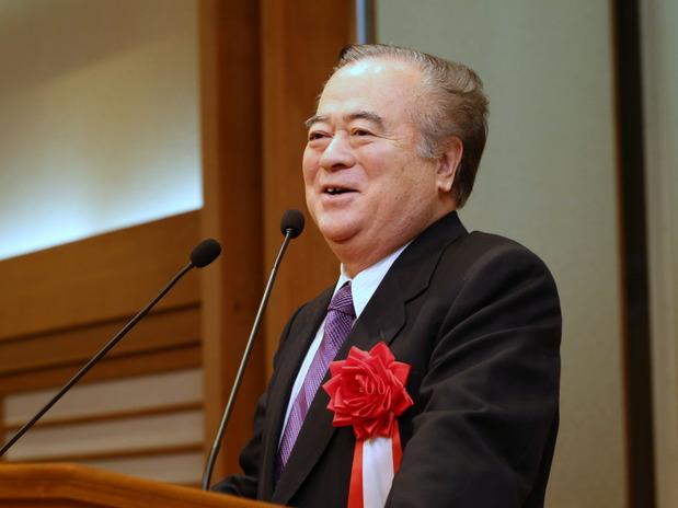 橋本昌知事の来賓挨拶
