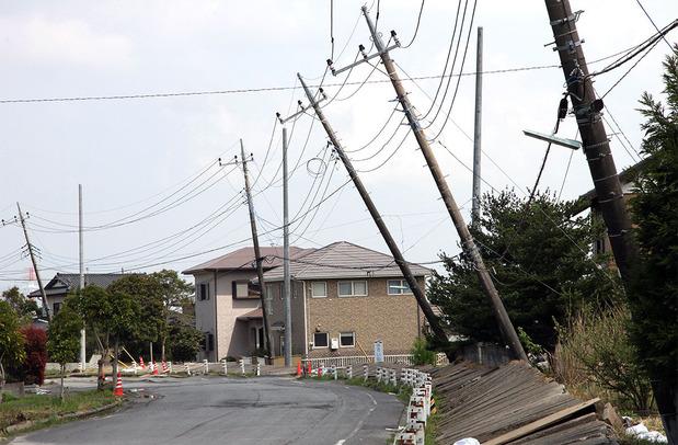 東日本大震災での液状化被害