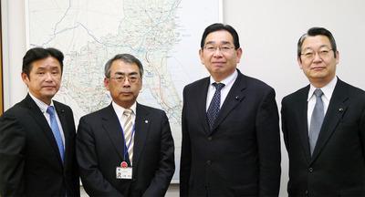 立ち倉土木部長への要望活動