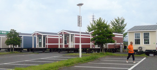 トレーラーハウスを活用した福祉避難所