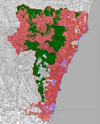日立市の地籍調査の進捗状況
