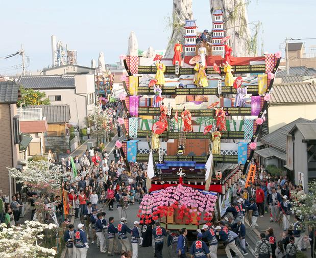 神峰神社の代祭礼