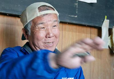 保管米の被害に悩んだ農家・和田さん