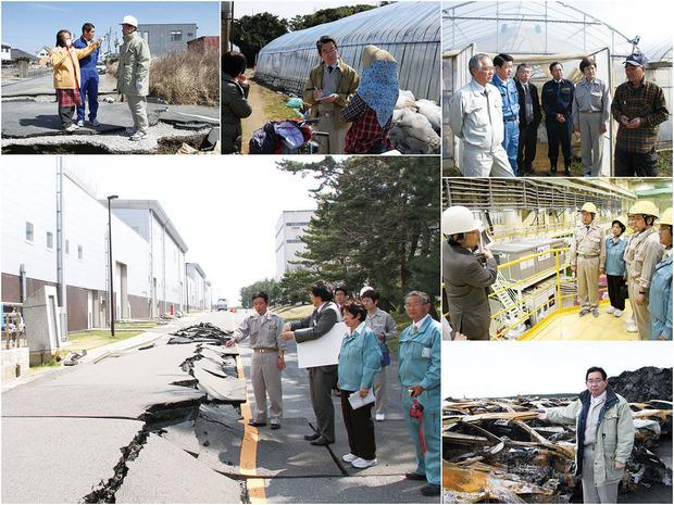 震災復興への活動