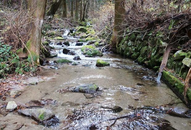 十石堀の源流
