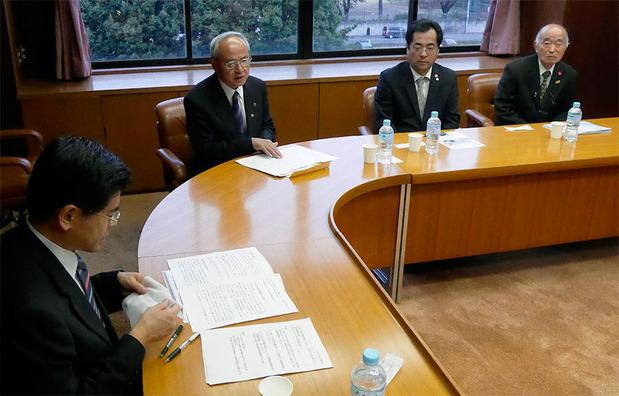 石井国交大臣への要望