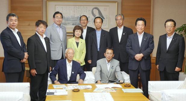 三重県議会の議長・副議長を表敬訪問