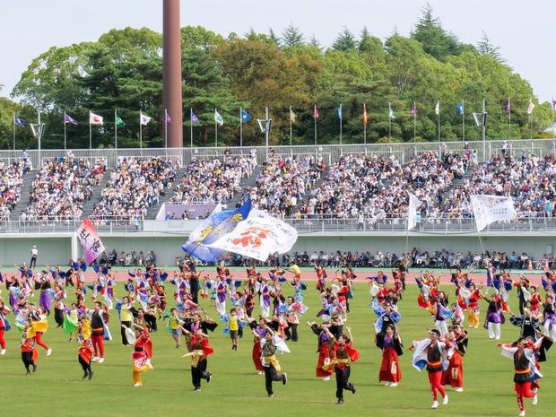 茨城国体総合開会式