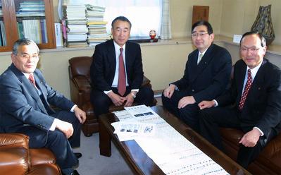 樫村さんとの意見交換(2003年1月)