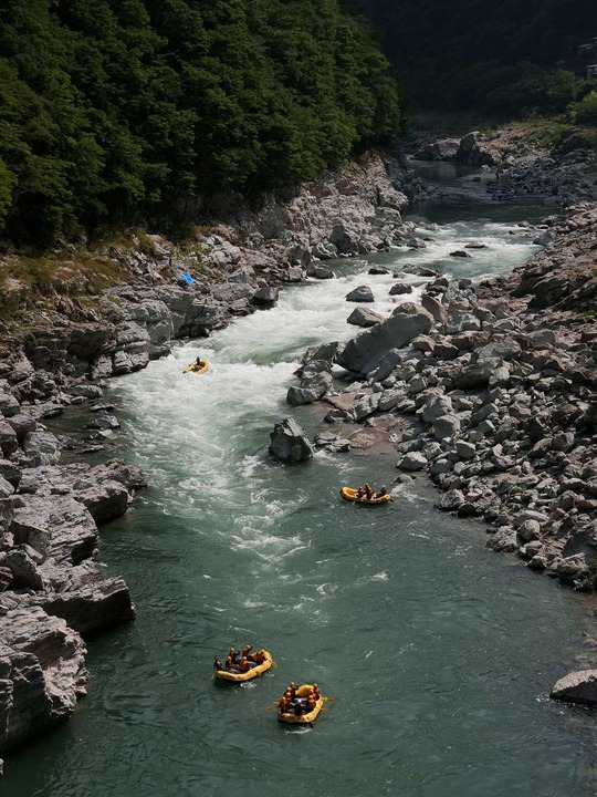 吉野川の清流