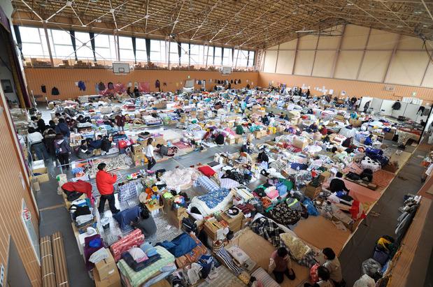 東日本大震災の避難所