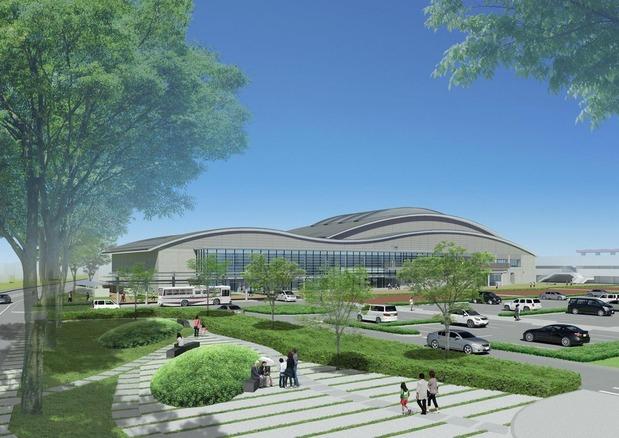 新中央委体育館