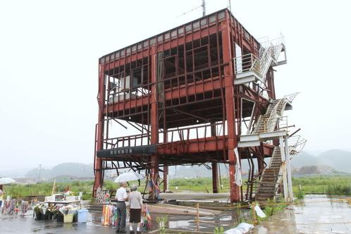 南三陸町の防災庁舎