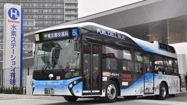 燃料電池(水素)バス