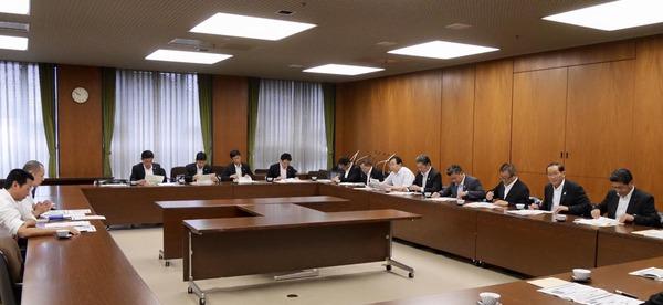 大阪市役所でのヒアリング
