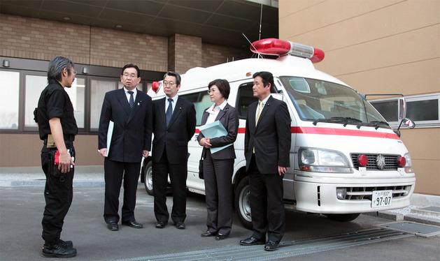 県立中央病院のドクターカー