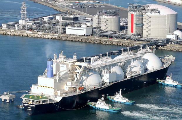東京ガスLNG船入港
