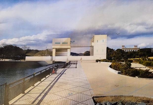 瀬上川水門完成予想図