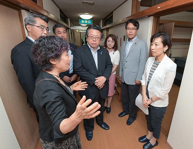 婦人保護施設で横田千代子代表