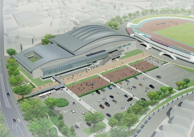 新中央体育館