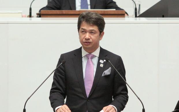 県議会代表質問<大井川和彦知事>