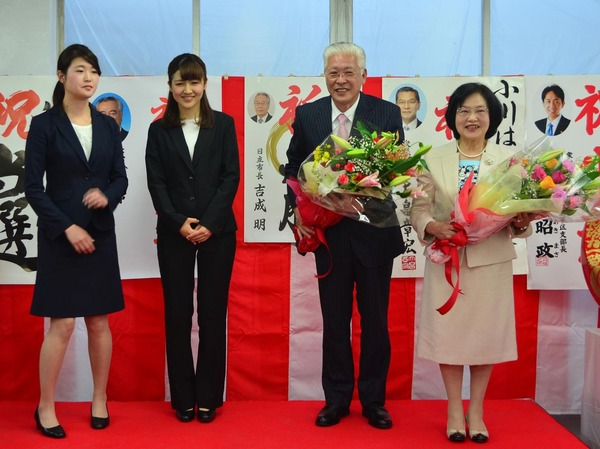 日立市長選・小川春樹候補が無投票当選