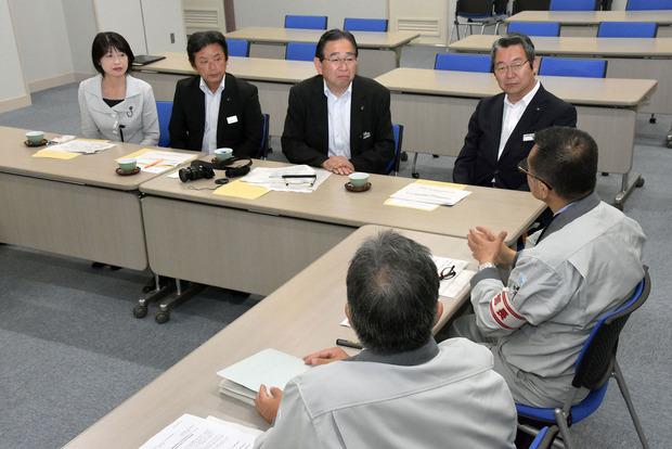 日本原子力機構大洗研究開発センターでの聞き取り調査