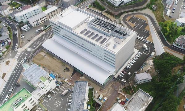 日立市市役所新庁舎開庁