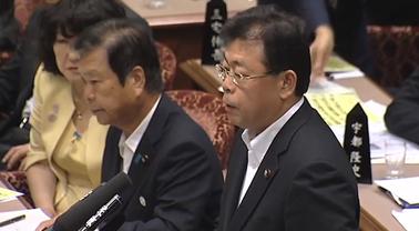 参議院予算委員会:西田まこと