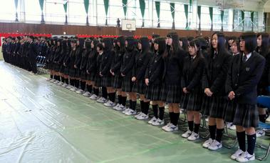 県立多賀高校卒業式