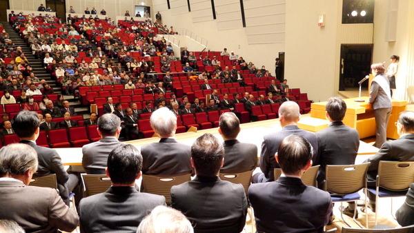 高萩市長選<小田木真代候補出陣式>