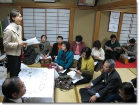 守谷市内で県政報告会を開催