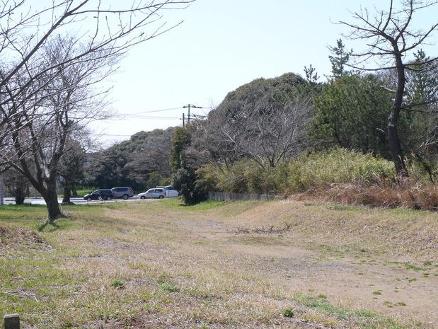 旧日立電鉄線跡地<桜川駅跡地>