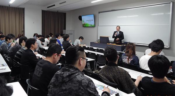 拓殖大学大学院で公開講座