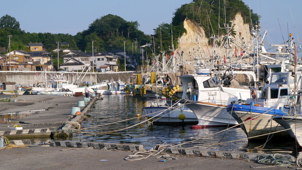北茨城大津漁港復興状況