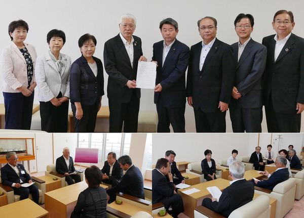 小川春樹日立市長に小中学校、幼稚園へのエアコン設置要望