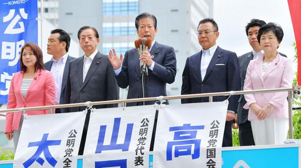 憲法記念日の街頭演説