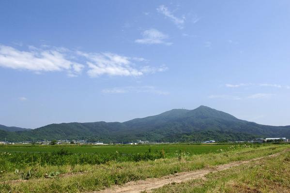 筑波山夏の風景