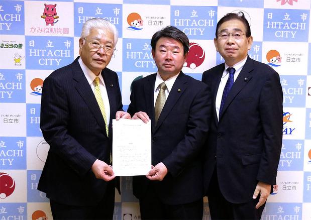 日立市長に県北芸術祭の継続開催を要望