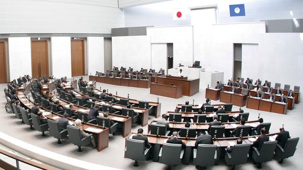 茨城県議会本会議