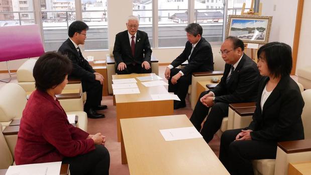小川市長との政策協定