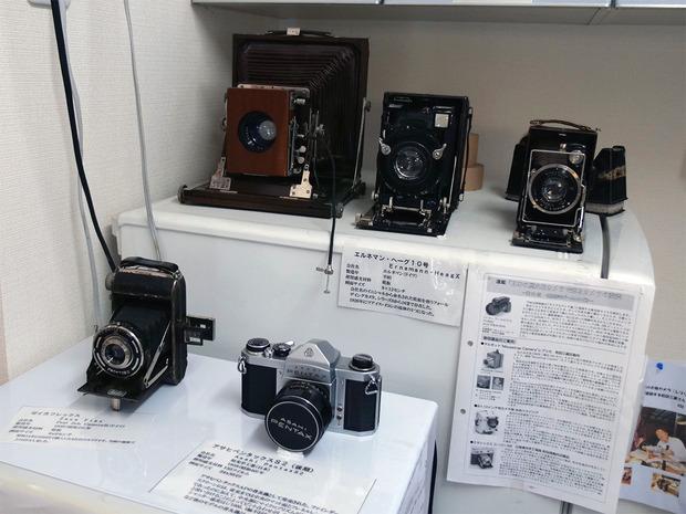 関右馬之丞氏が使用していたカメラ