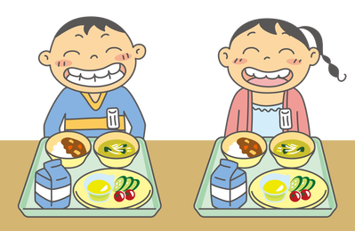 給食のイメージ
